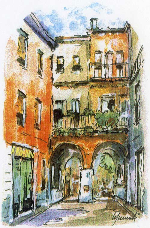 Immagine usata per gentile concessione della galleria d'arte Il Rivellino a Ferrara in via G. Baruffaldi, 6.